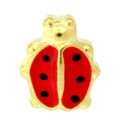 Ladybug Charm For Lockets
