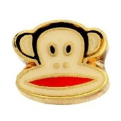 Monkey Face Charm For Lockets