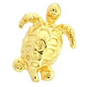 Turtle (Gold) Charm For Lockets