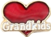 GRANDKIDS Heart Charm For Lockets