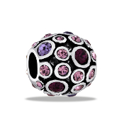 Purples Decorative Orb Bead by DaVinci