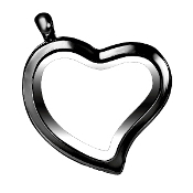 Heart Gunmetal Locket