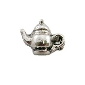 Teapot (Silver) Charm For Lockets