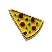 Slice of Pizza Charm For Lockets