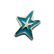 Blue Starfish Charm for Lockets