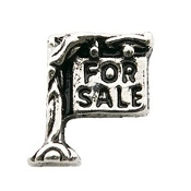 FOR SALE Sign (Realtor) Charm for Lockets