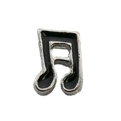 Double Music Note Charm For Lockets
