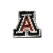 Arizona Wildcats Collegiate Charm For Lockets