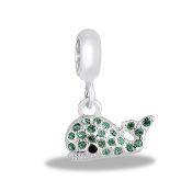 Whale Crystal Bead By DaVinci®