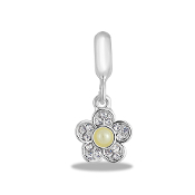 Flower Crystal Bead By DaVinci®