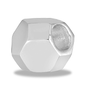 Silver Sphere Bead By DaVinci®
