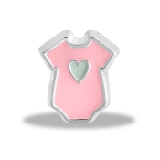 Pink Onesie Charm by Forever In My Heart® Lockets