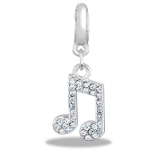 Music Note Drop Accessory by Forever In My Heart® Lockets