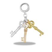 Keys Drop Accessory by Forever In My Heart® Lockets