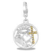 Faith Drop Accessory by Forever In My Heart® Lockets