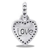 Heart/Love DaVinci® Dangle Bead