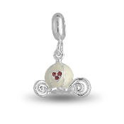 Princess Carriage Crystal Dangle Bead by DaVinci®