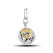 FOREVER AND ALWAYS Dangle Bead by DaVinci®