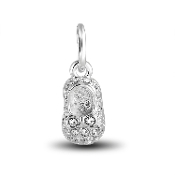 Crystal Slipper Dangle Bead for DaVinci Inspirations® Jewelry