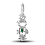 May Boy Charm by The DaVinci® Heart of Family Collection