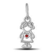 July Girl Charm by The DaVinci® Heart of Family Collection