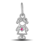 October Girl Charm by The DaVinci® Heart of Family Collection