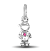 October Boy Charm by The DaVinci® Heart of Family Collection