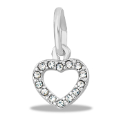 Heart Crystal Charm by The DaVinci® Heart of Family Collection