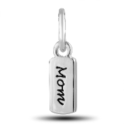 MOM Tag Charm by The DaVinci® Heart of Family Collection