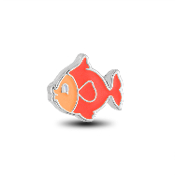 Tropical Fish Charm for Floating Keepsake Lockets