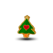 Christmas Tree Charm for Lockets