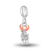 Reindeer Charm for Beaded Jewelry