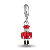 Nutcracker Soldier Charm for Beaded Jewelry