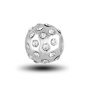 Crystal Spacer Charm Bead for DaVinci Inspirations® Jewelry