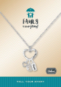 Family Tree Necklace Pre-Designed by DaVinci Charms & Beads