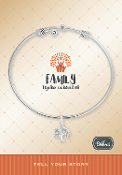 FAMILY TREE Bracelet Pre-Designed by DaVinci Charms and Beads