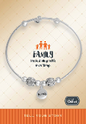 FAMILY Bracelet Pre-Designed by DaVinci Charms and Beads
