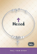 BLESSED CROSS Bracelet Pre-Designed by DaVinci Charms and Beads