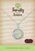 FAITH, FAMILY, LOVE Forever In My Heart Pre-Designed Locket