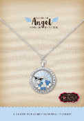 GUARDIAN ANGEL Forever In My Heart Pre-Designed Locket