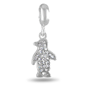 Crystal Penguin Bead For The DaVinci Collection