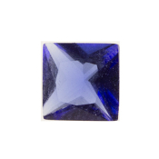 9- September Square Crystal Birthstone Charm