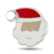 Santa Charm for Forever in My Heart Lockets