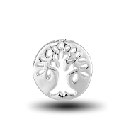 Tree of Life Silver Charm for Forever in My Heart Lockets