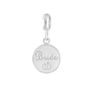BRIDE Dangle Coin Bead For The DaVinci Collection