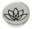 Lotus Flower Charm for Forever in My Heart Lockets
