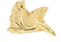 Pelican (Gold) Charm For Lockets - TRUNK SALE NO OTHER DISCOUNT